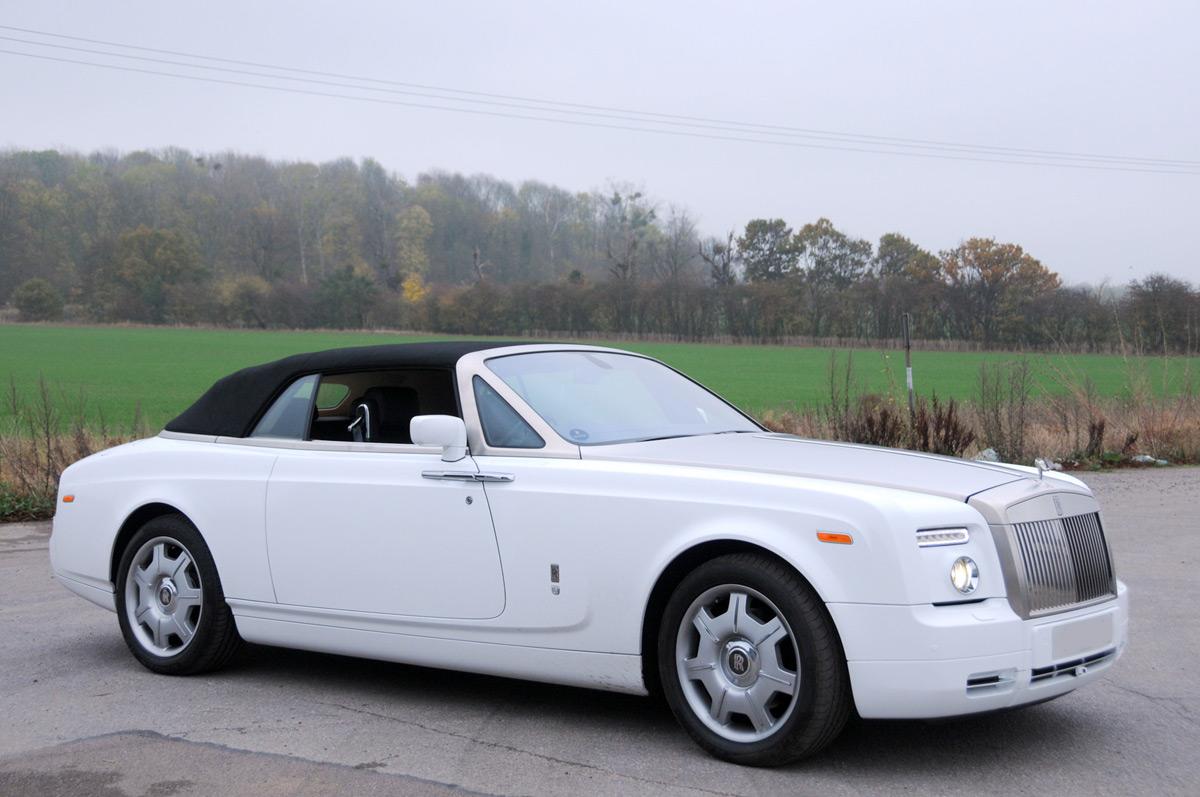 rolls royce phantom drophead prestige classic wedding cars. Black Bedroom Furniture Sets. Home Design Ideas