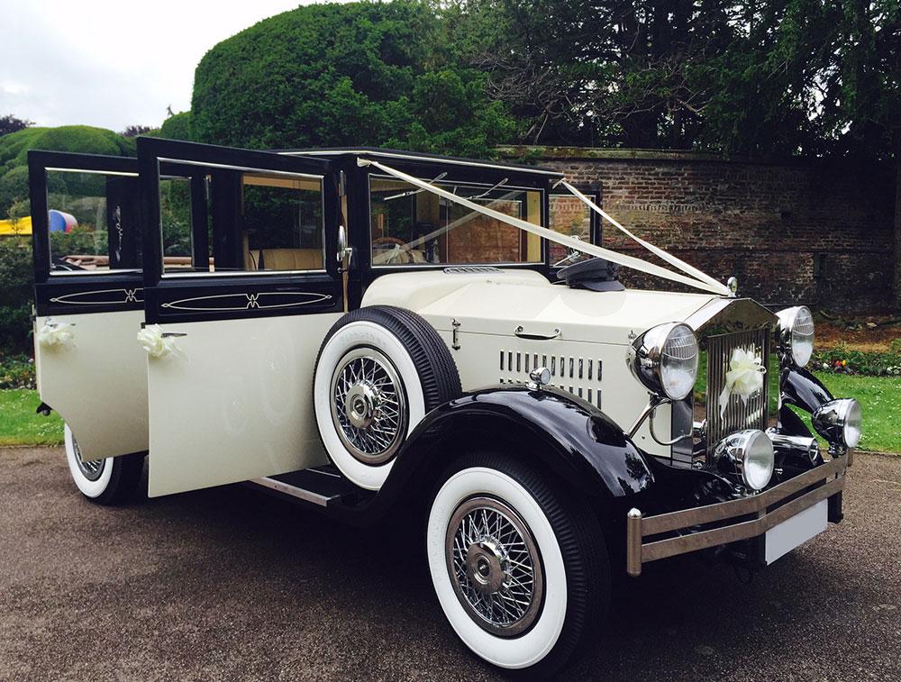the viscount landaulette hire prestige classic wedding cars. Black Bedroom Furniture Sets. Home Design Ideas