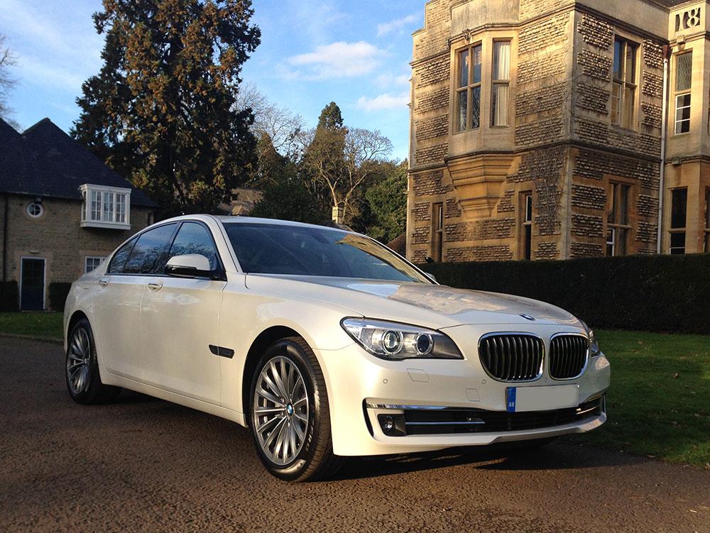 BMW 7 Series | Wedding Car | Prestige & Classic Wedding Cars